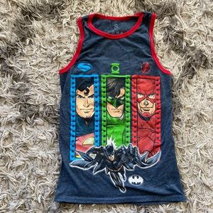 🦊3 for $20🦊 Boys Justice League Tank
